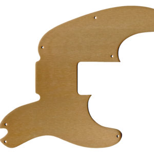 Replacement Anodized Aircraft Aluminum Pickguard For Fender Precision Bass Telecaster 1951