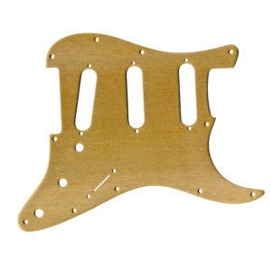 Replacement Anodized Aircraft Aluminum Pickguard For Fender Stratocaster Standard