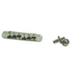 Replacement Zinc Nashville Tune-O-Matic Bridge With Brass Saddles Nickel
